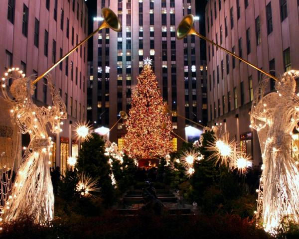 decoração de natal do Rockefeller Center