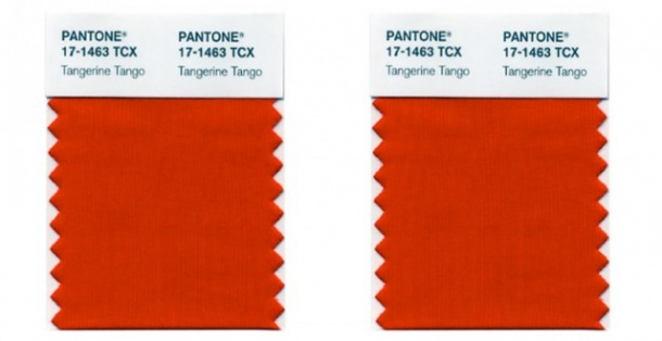 pantone tangerine tango 2012