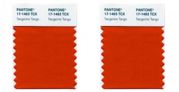 pantone tangerine tango 2012