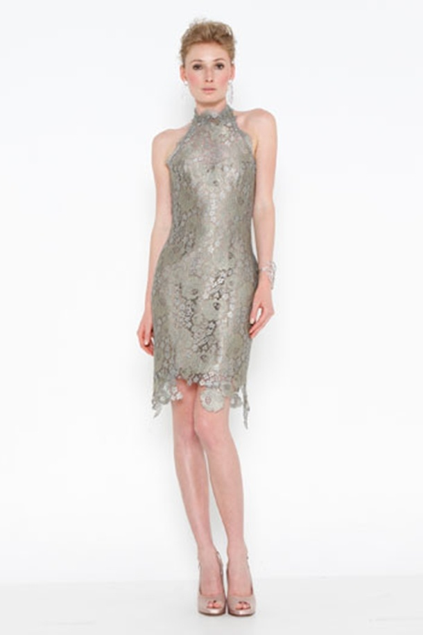 vestido prata