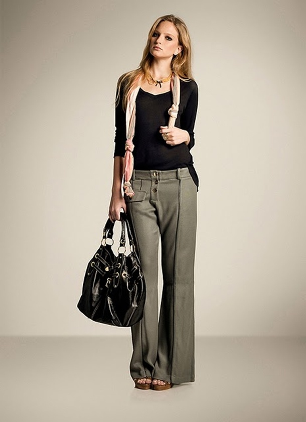 estilo calça alfaiataria