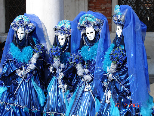 carnaval em veneza na itália 2012