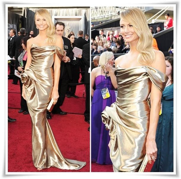Stacy Keibler Oscar 2012