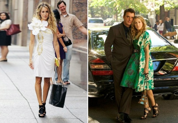 Carrie Bradshaw em Sex and the City