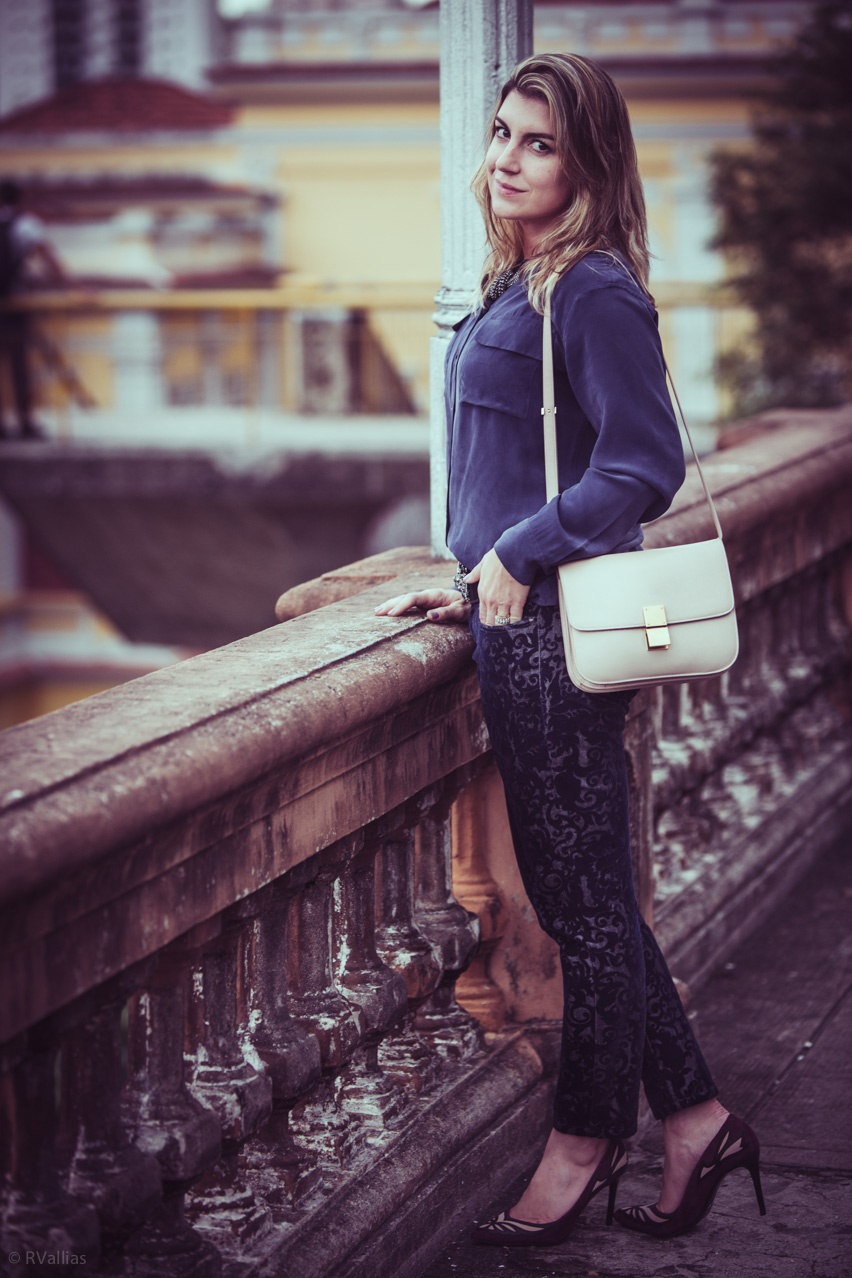 Cris Vallias, fashion blogger