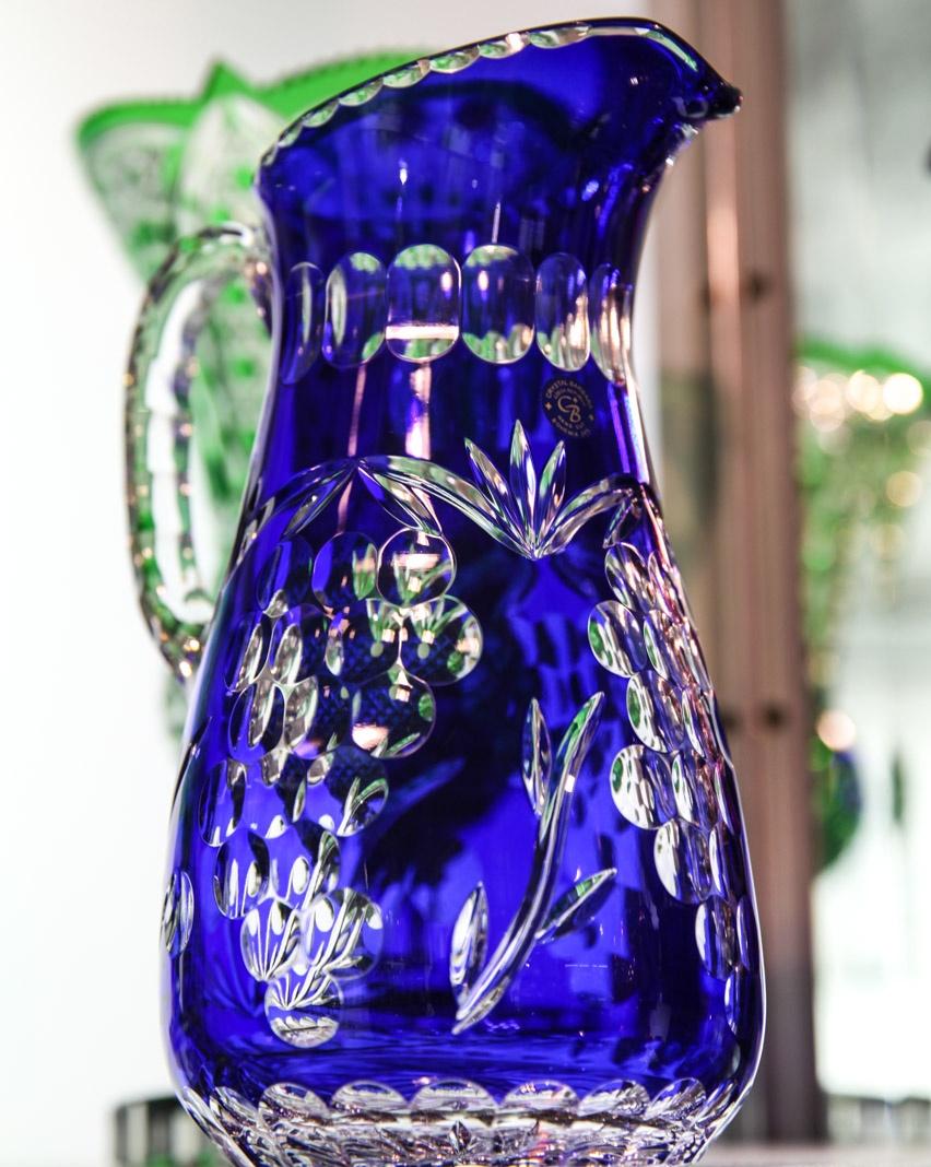 jarra cristal tcheco