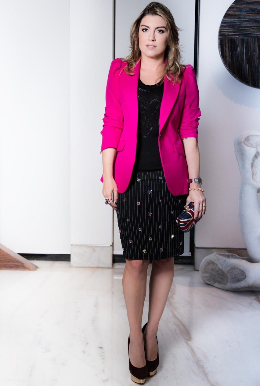 blazer feminino pink