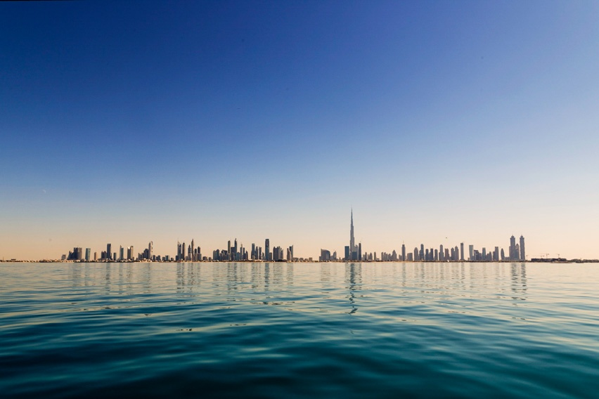 Dubai by the sea