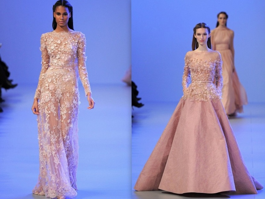 Desfile Elie Saab - Cris Vallias Blog 1