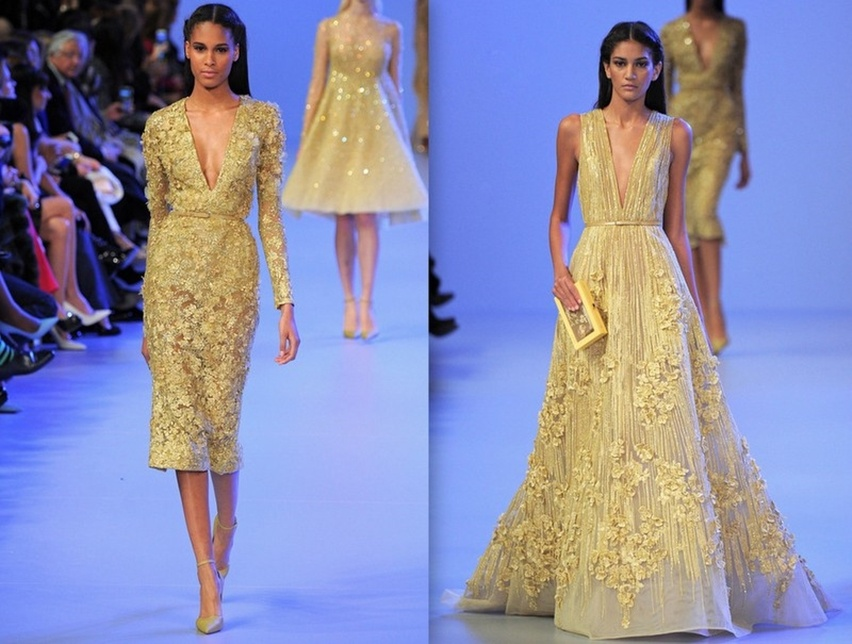 Desfile Elie Saab - Cris Vallias Blog 7