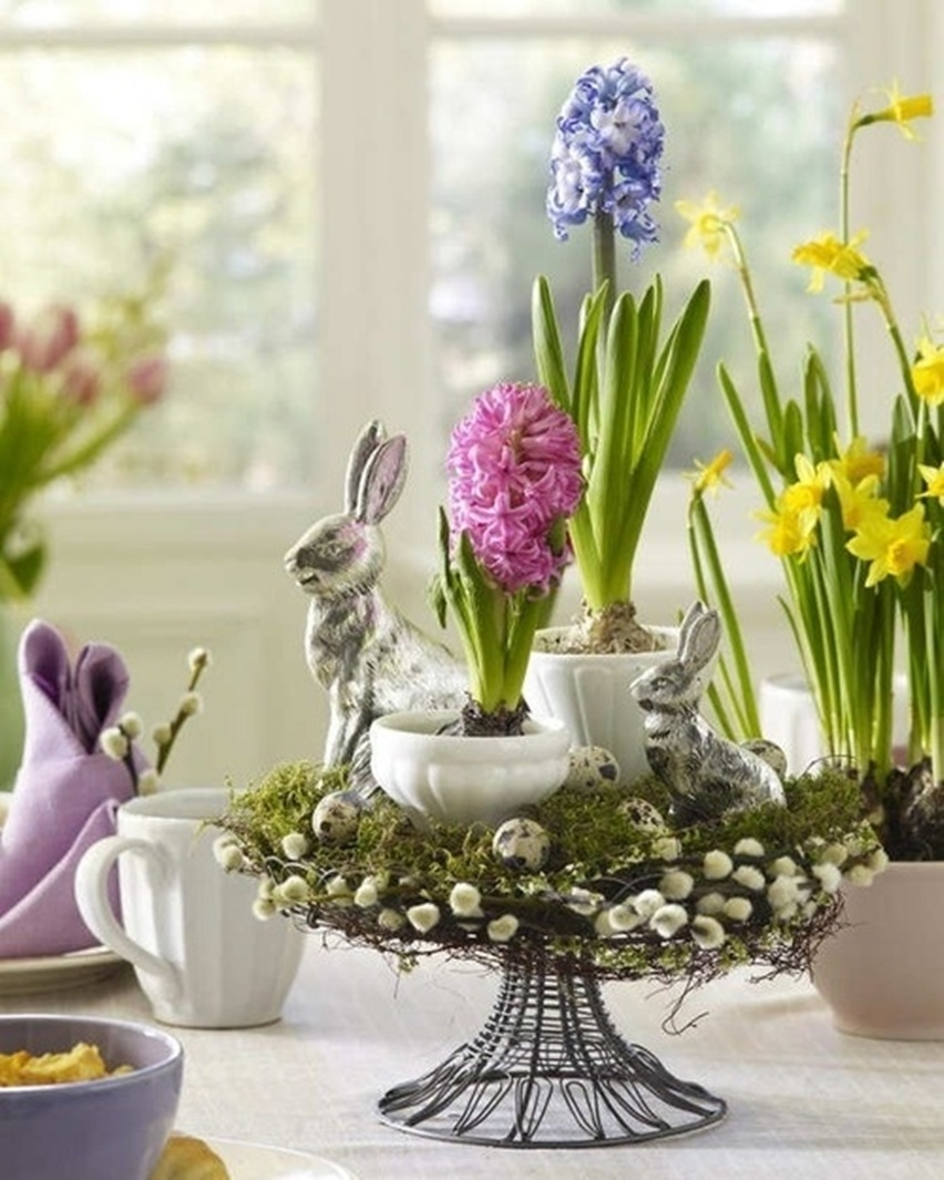 Easter Tablescapes - Cris Vallias Blog 10