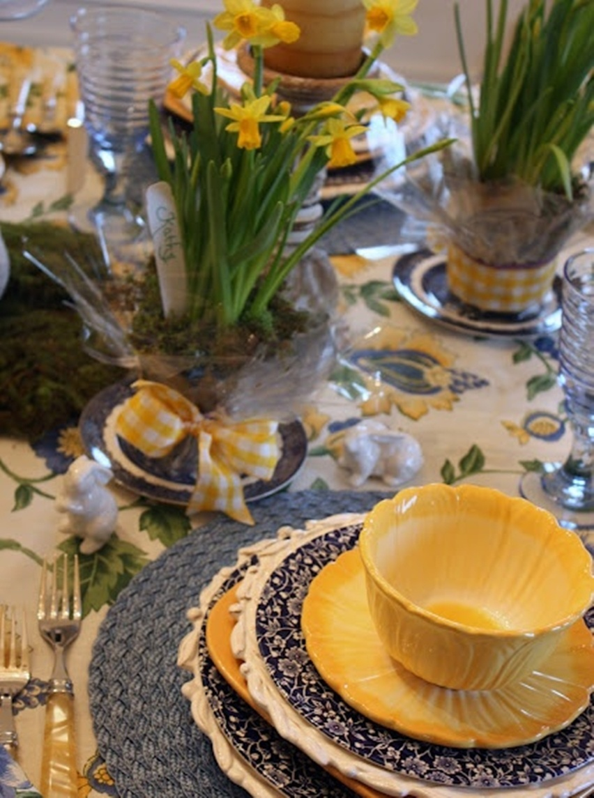 Easter Tablescapes - Cris Vallias Blog 16