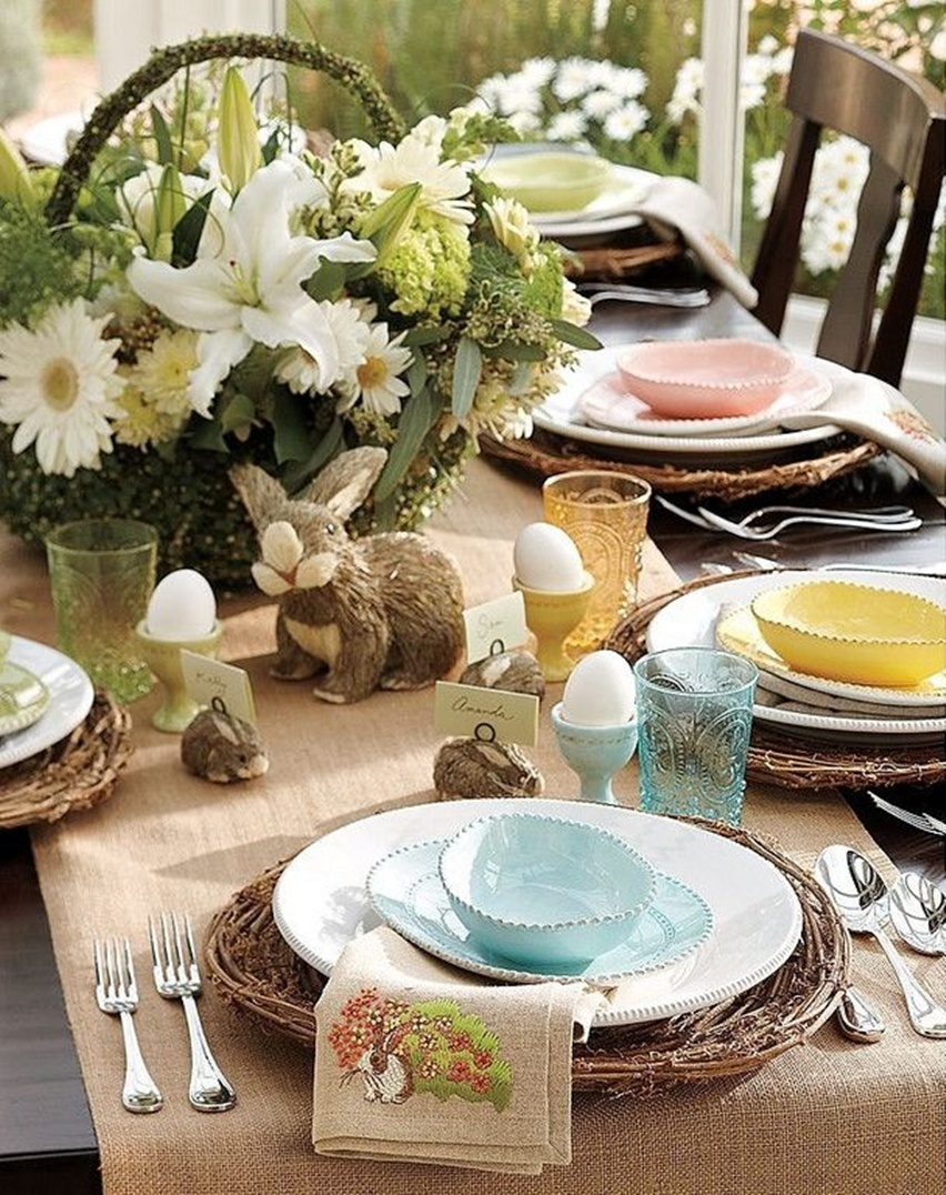 Easter Tablescapes - Cris Vallias Blog 17