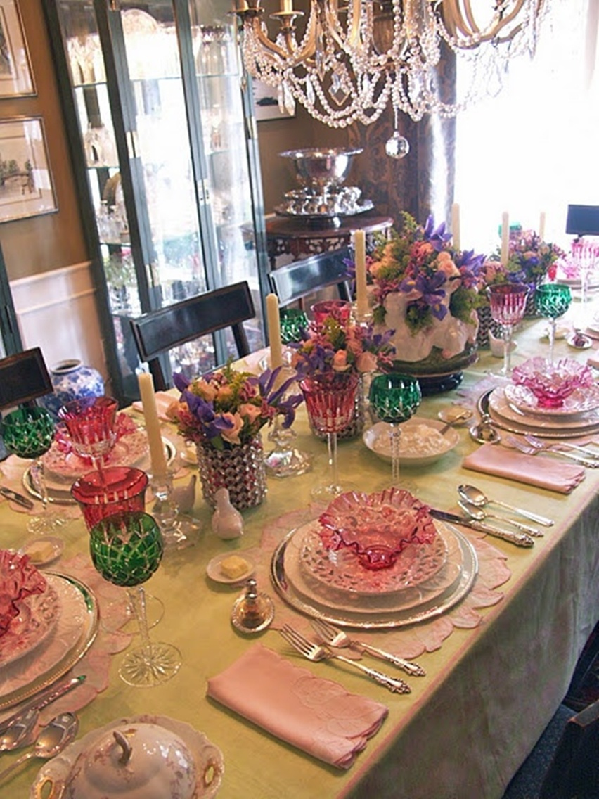 Easter Tablescapes - Cris Vallias Blog 22