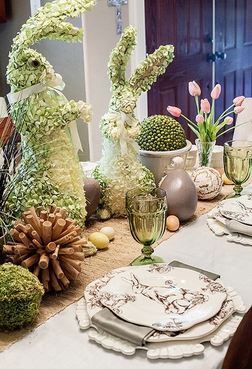 Easter Tablescapes - Cris Vallias Blog 26