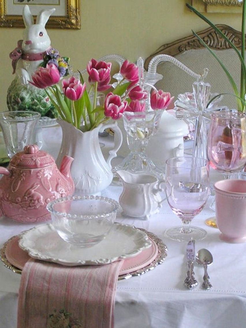 Easter Tablescapes - Cris Vallias Blog 29