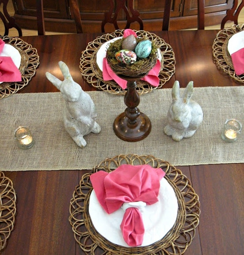 Easter Tablescapes - Cris Vallias Blog 32