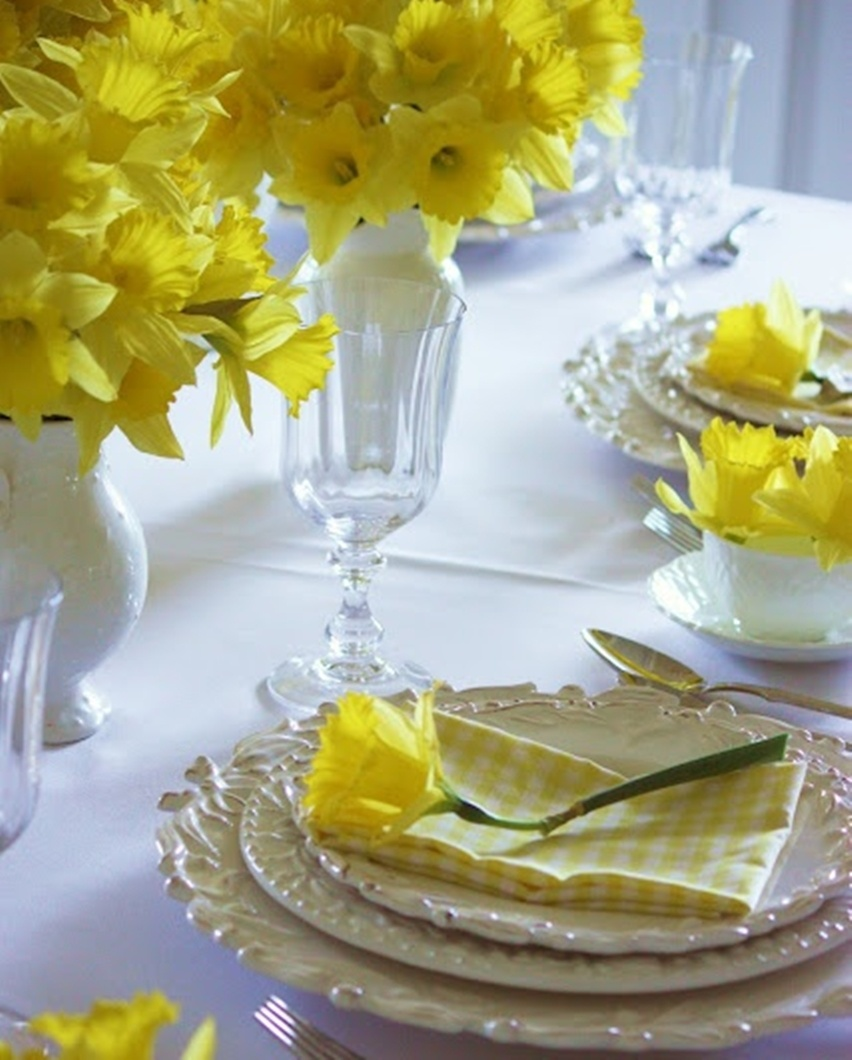 Easter Tablescapes - Cris Vallias Blog 35