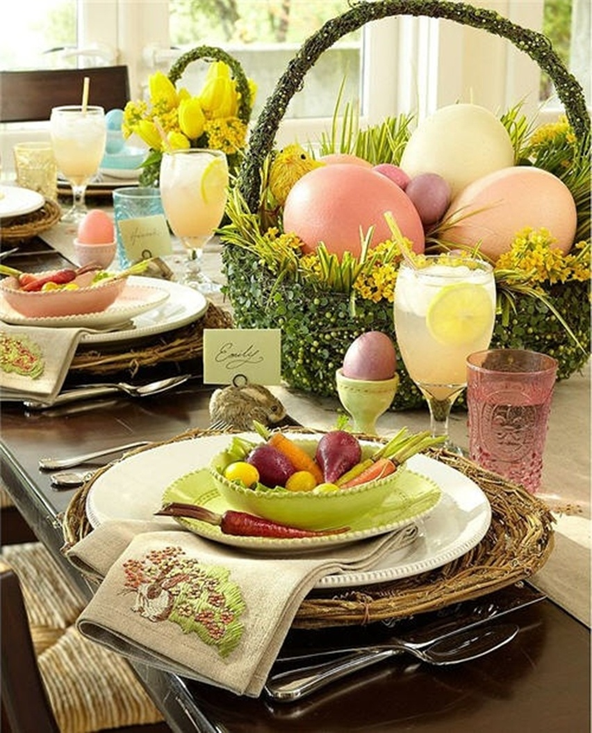 Easter Tablescapes - Cris Vallias Blog 36