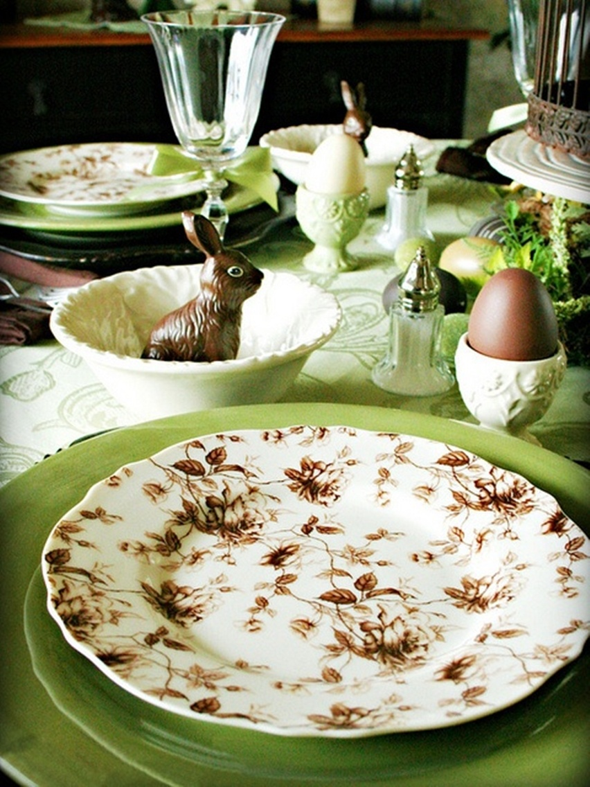 Easter Tablescapes - Cris Vallias Blog 37