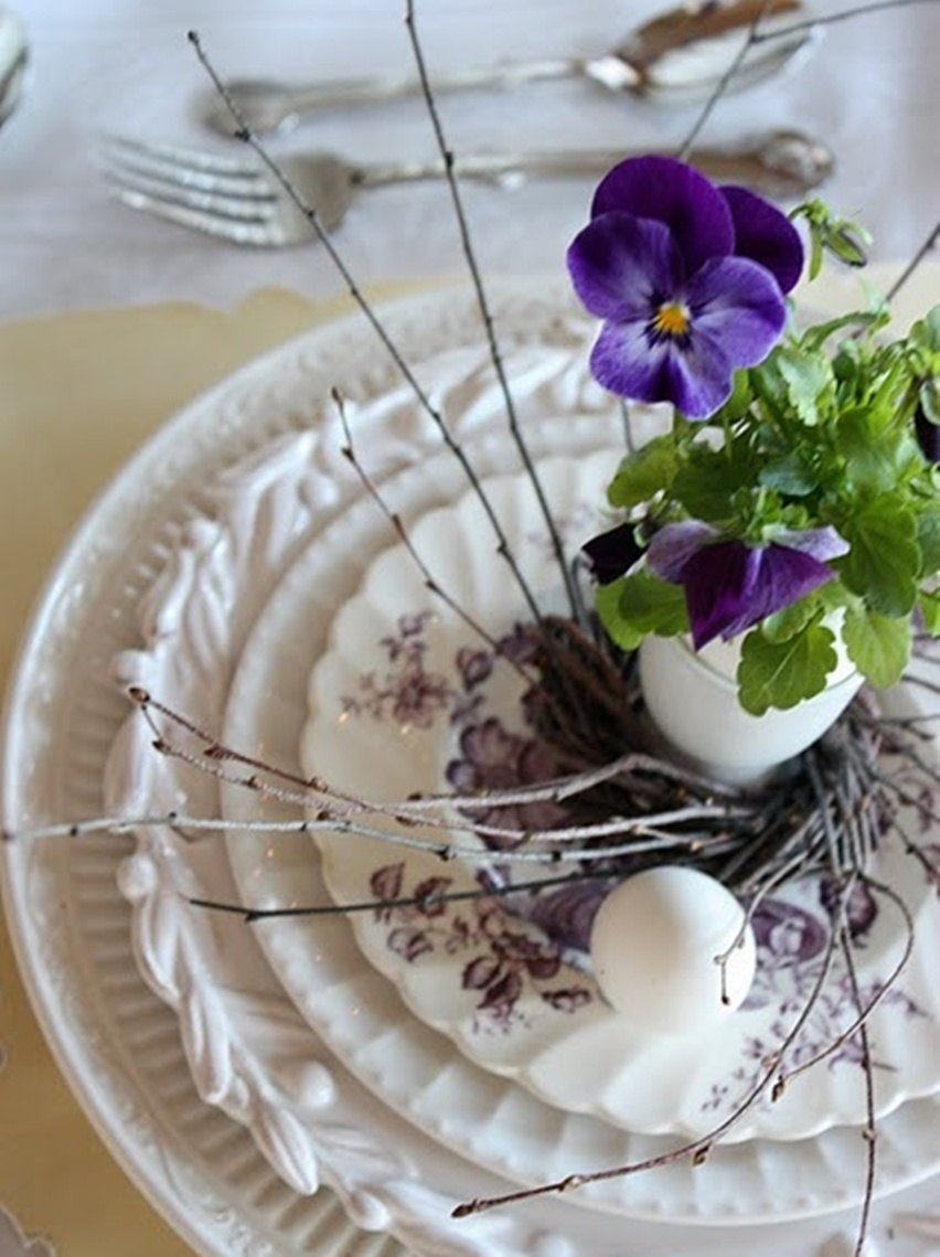 Easter Tablescapes - Cris Vallias Blog 38