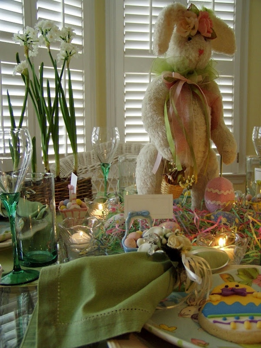 Easter Tablescapes - Cris Vallias Blog 39