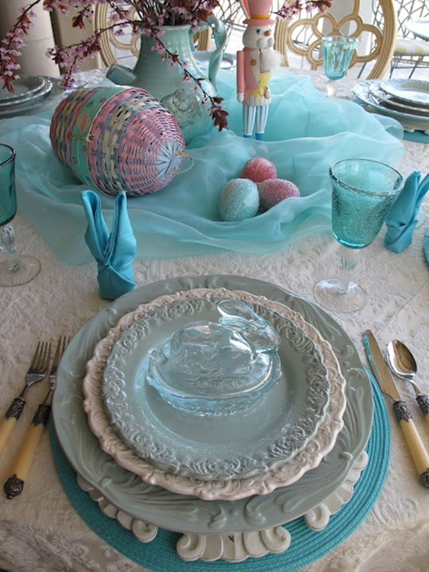Easter Tablescapes - Cris Vallias Blog 8