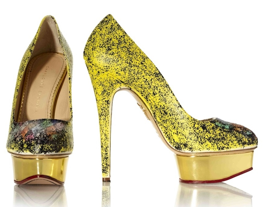 Charlotte Olympia Artsy - Cris Vallias Blog 5