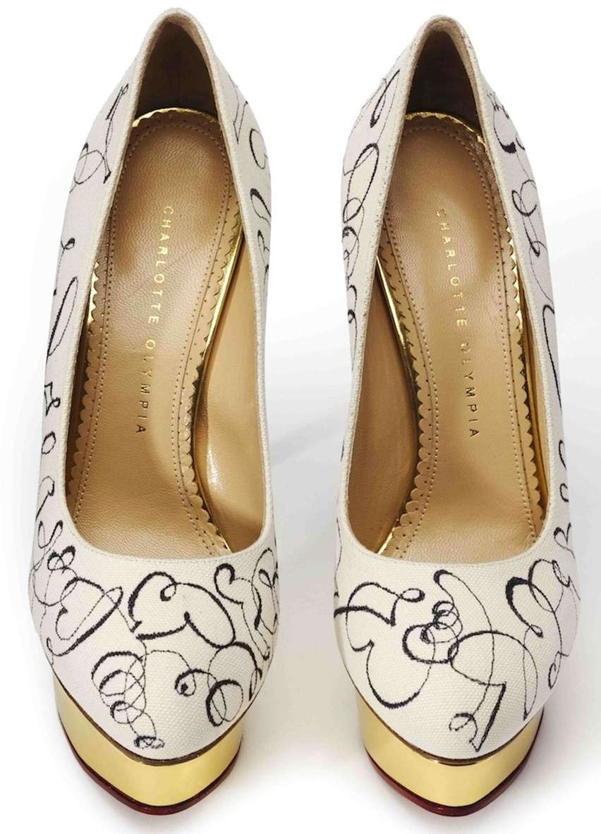 Charlotte Olympia Artsy - Cris Vallias Blog 6
