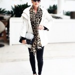 Trench coat branco Juliana Jabour