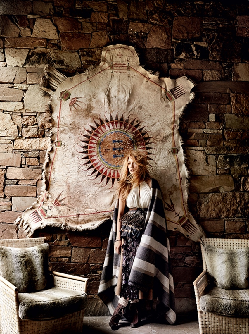 Blake Lively por Mario Testino na Vogue US Agosto 2014 - Cris Vallias blog 4