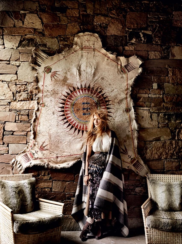 Blake Lively por Mario Testino na Vogue US Agosto 2014 - Cris Vallias blog 4