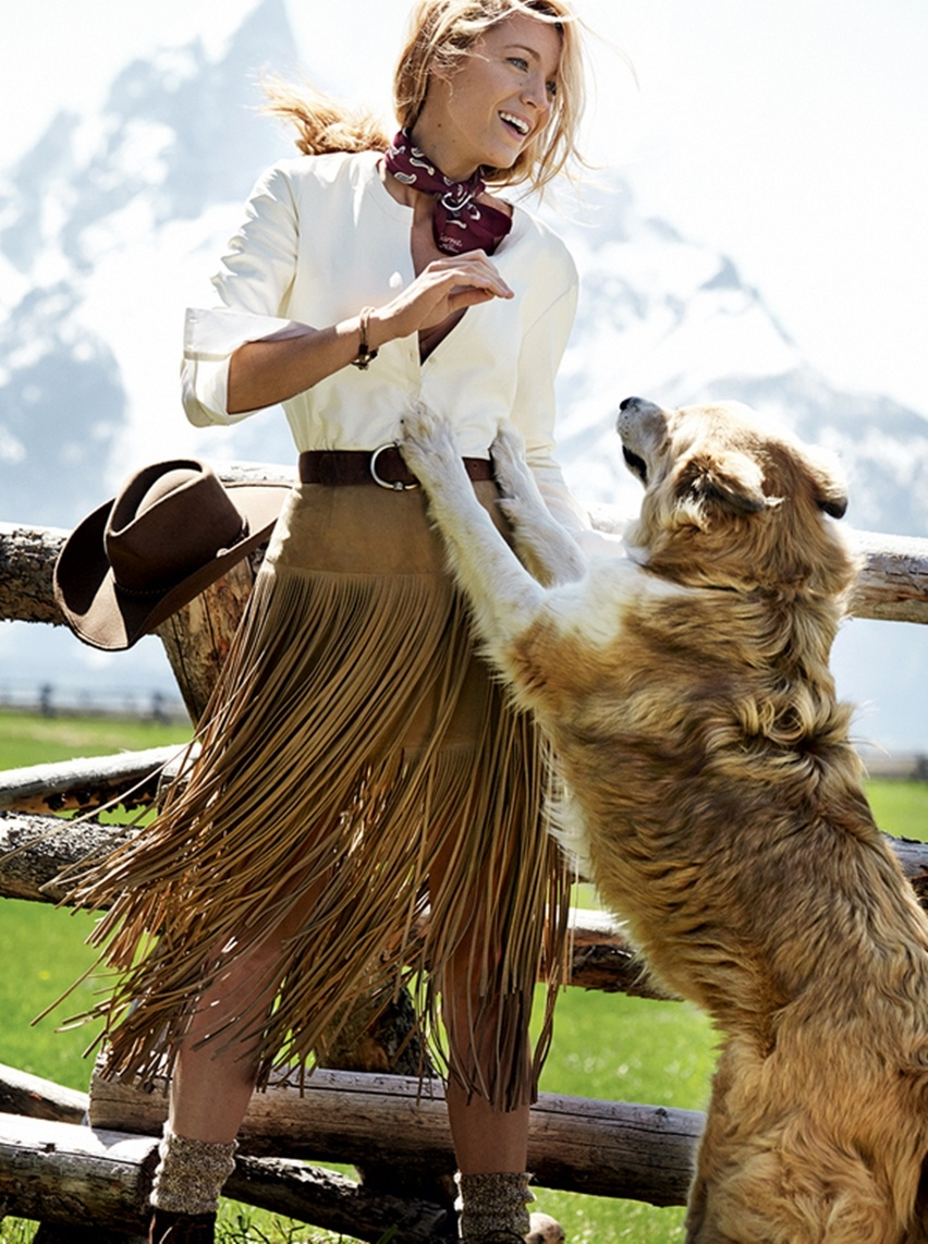 Blake Lively por Mario Testino na Vogue US Agosto 2014 - Cris Vallias blog 5