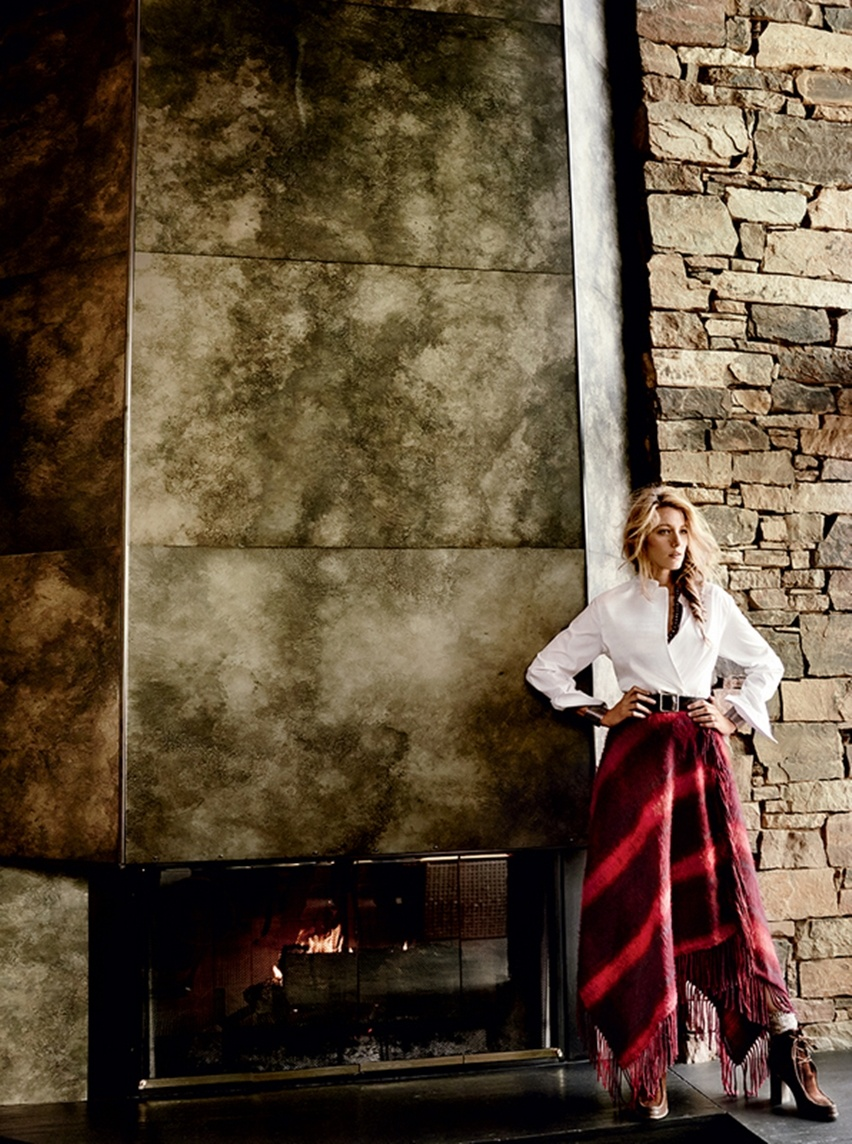 Blake Lively por Mario Testino na Vogue US Agosto 2014 - Cris Vallias blog 6
