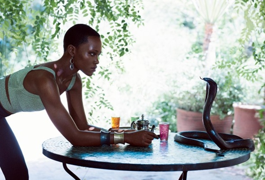 Lupita Nyong'O - Vogue América - Cris Vallias Blog 8