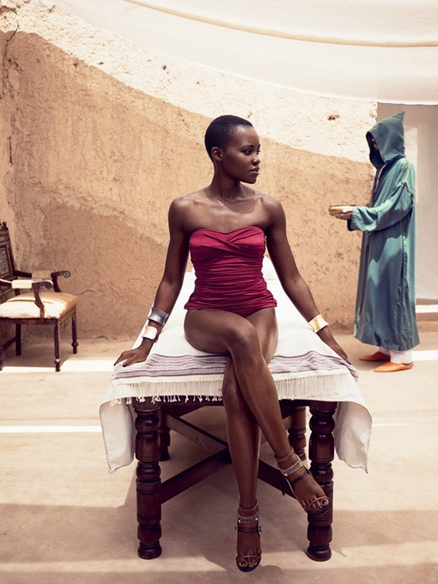 Lupita Nyong'O - Vogue América - Cris Vallias Blog 9