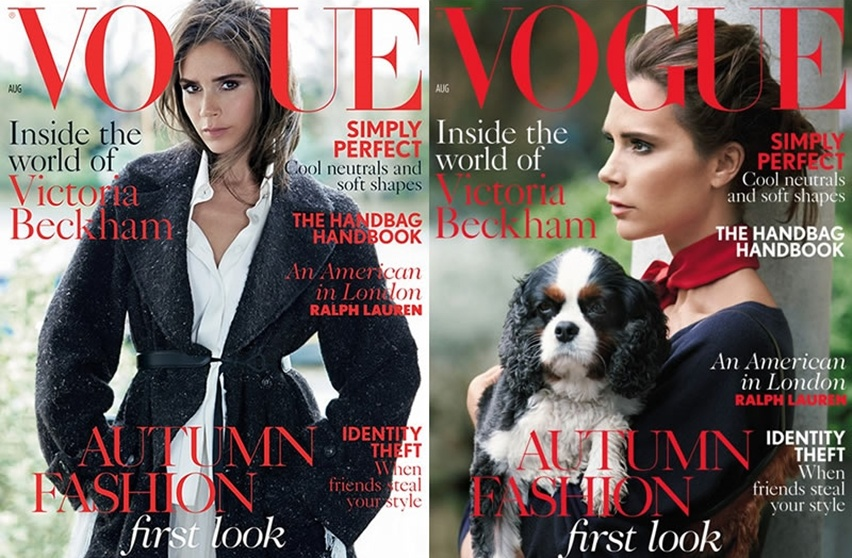 Victoria Beckham na Vogue UK Agosto 2014 - Cris Vallias Blog 1