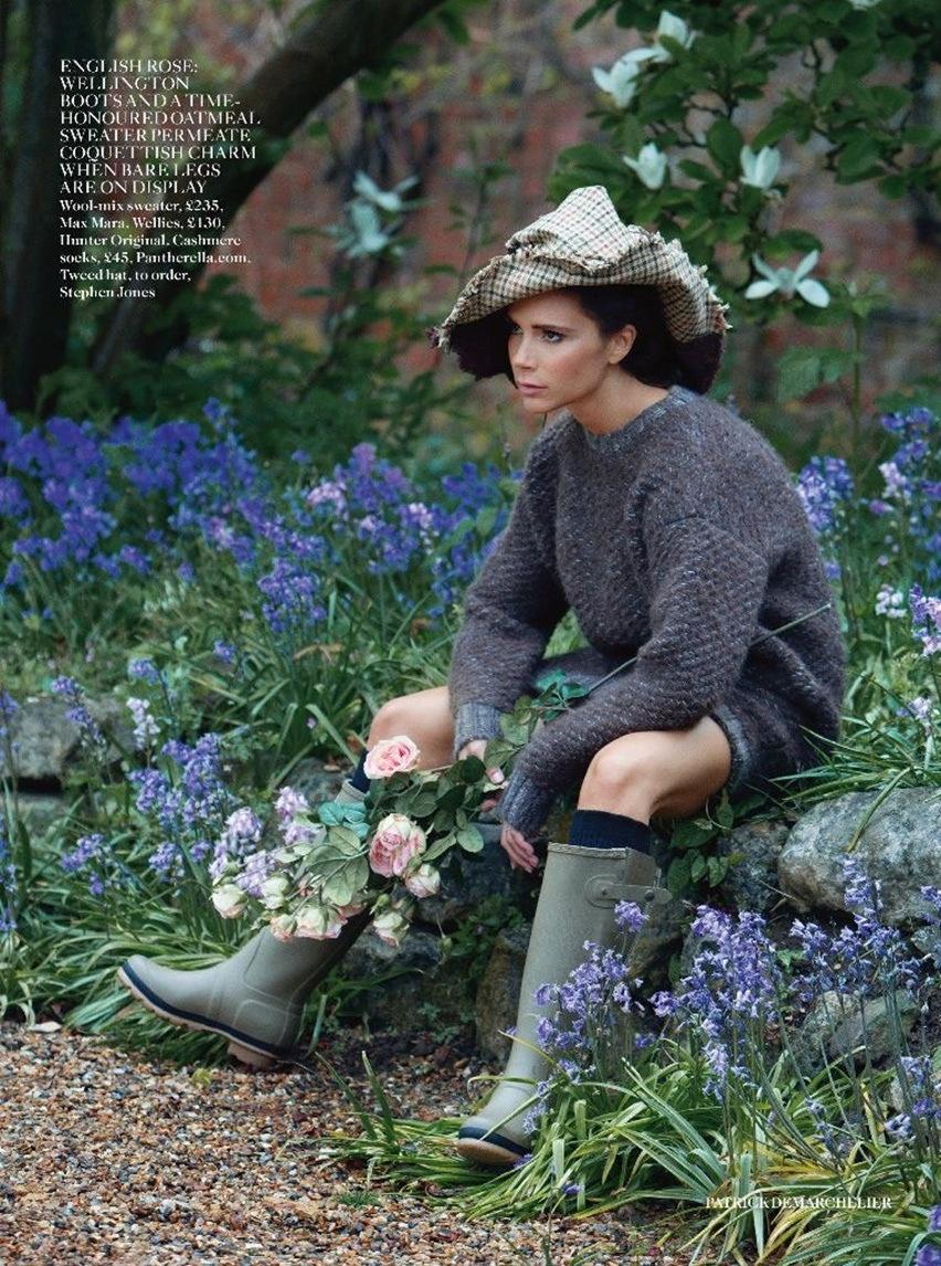 Victoria Beckham na Vogue UK Agosto 2014 - Cris Vallias Blog 12