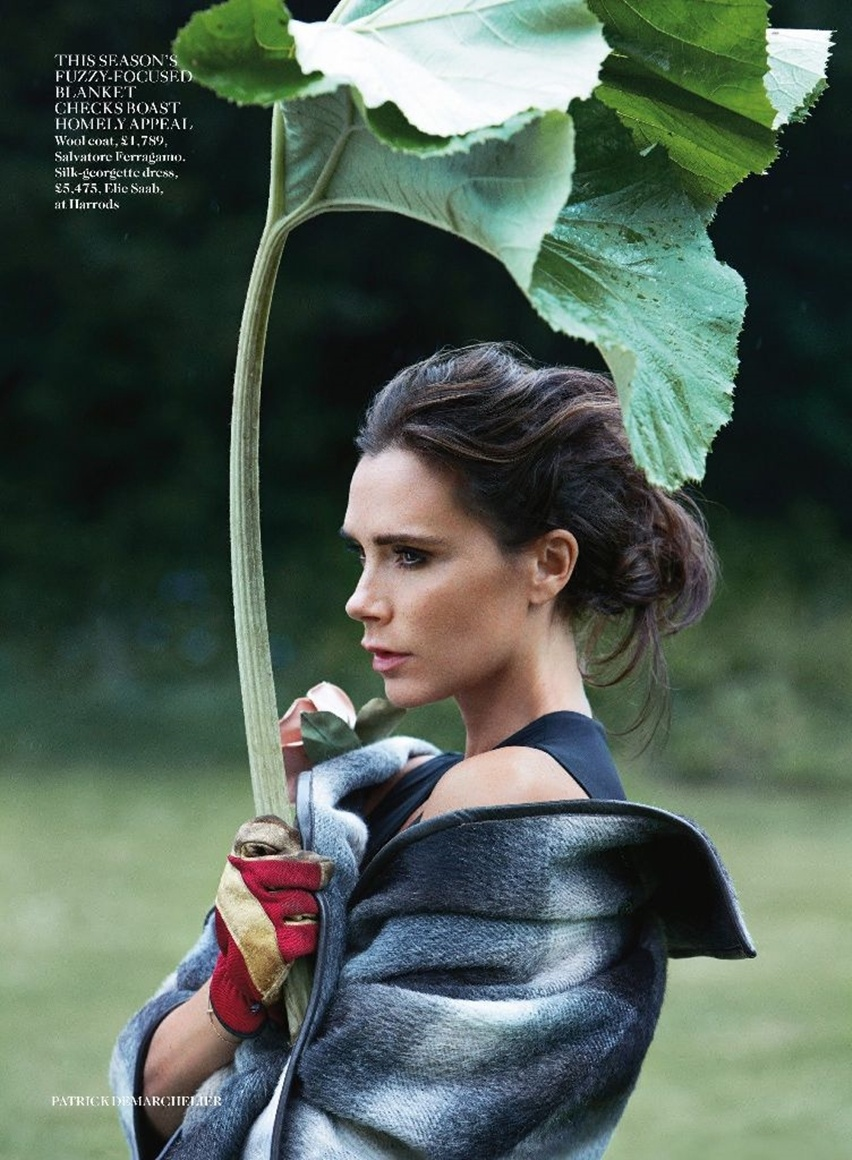 Victoria Beckham na Vogue UK Agosto 2014 - Cris Vallias Blog 8