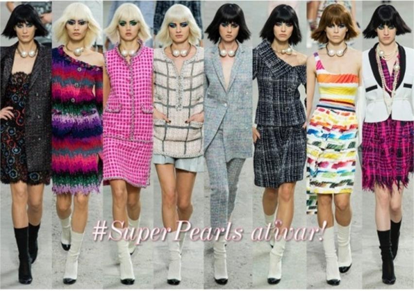 Super Maxi Pérolas Chanel - Cris Vallias blog 1