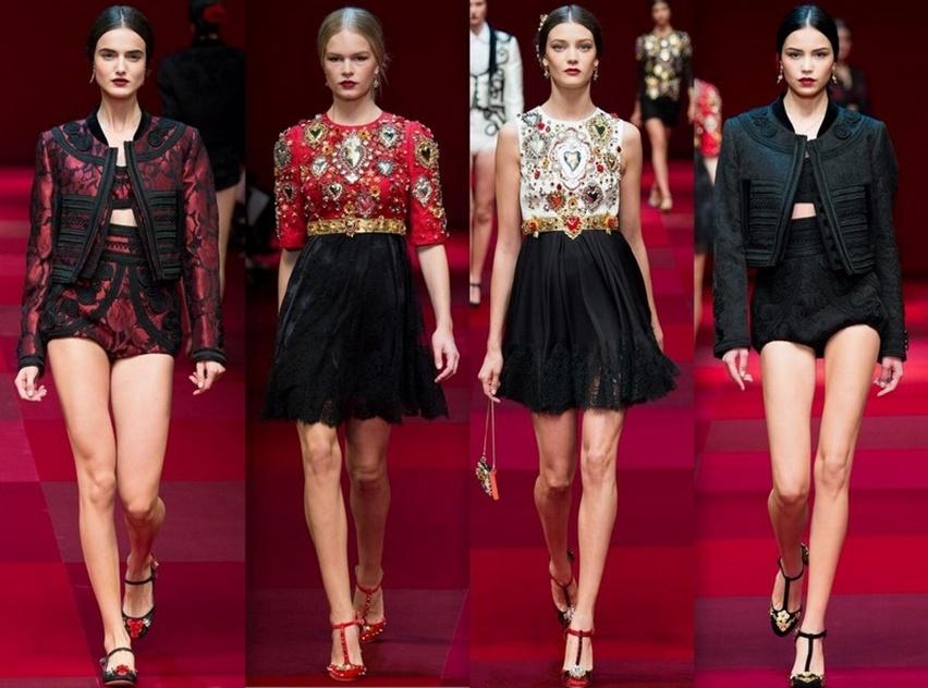 Dolce & Gabbana em Milão - Verão 2015 - Cris Vallias Blog 1