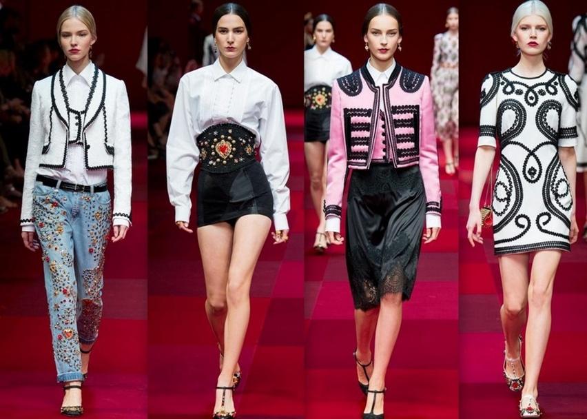 Dolce & Gabbana em Milão - Verão 2015 - Cris Vallias Blog 11