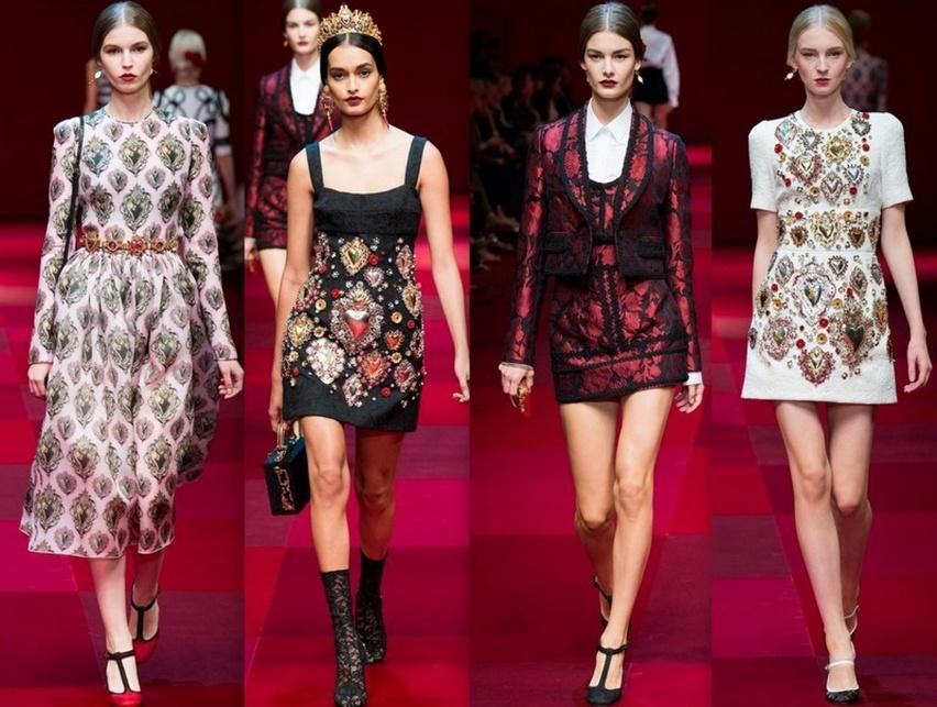 Dolce & Gabbana em Milão - Verão 2015 - Cris Vallias Blog 12