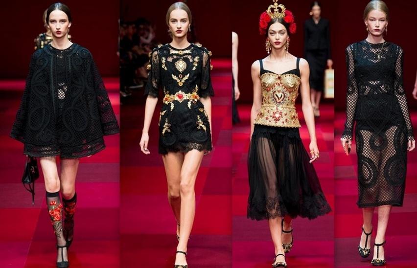 Dolce & Gabbana em Milão - Verão 2015 - Cris Vallias Blog 13