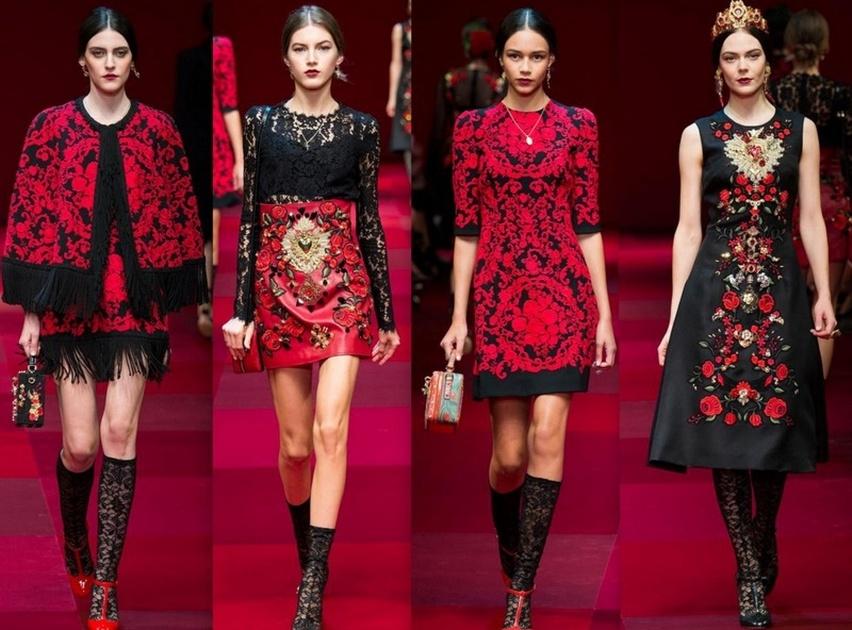 Dolce & Gabbana em Milão - Verão 2015 - Cris Vallias Blog 15