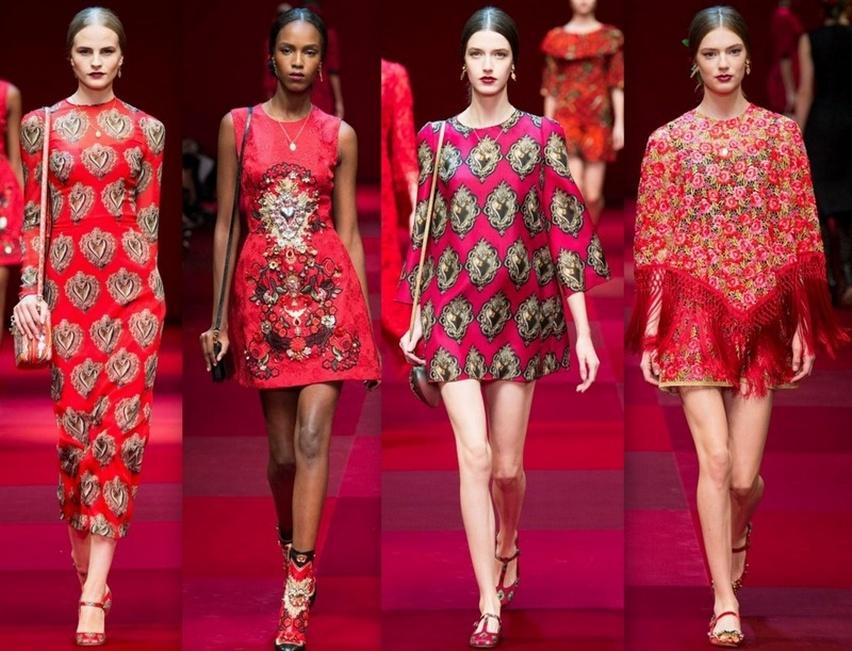 Dolce & Gabbana em Milão - Verão 2015 - Cris Vallias Blog 16
