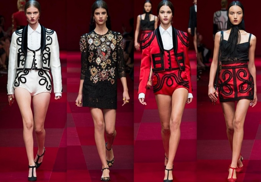 Dolce & Gabbana em Milão - Verão 2015 - Cris Vallias Blog 2