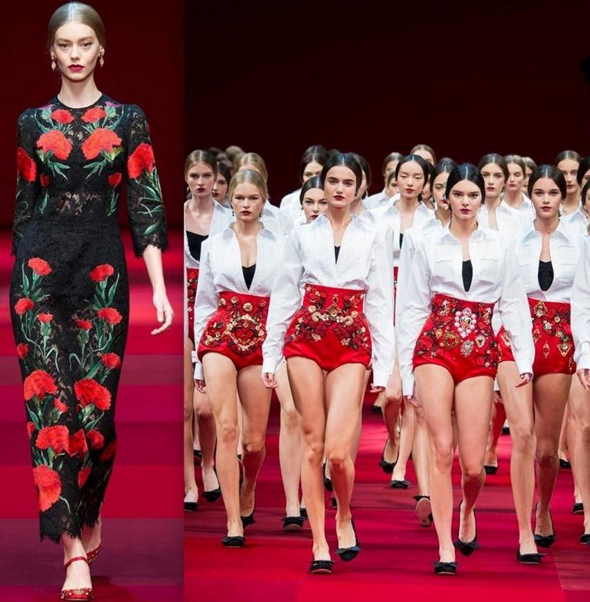 Dolce & Gabbana em Milão - Verão 2015 - Cris Vallias Blog 21