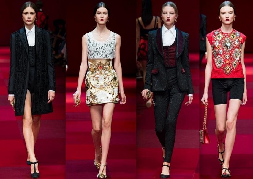 Dolce & Gabbana em Milão - Verão 2015 - Cris Vallias Blog 3