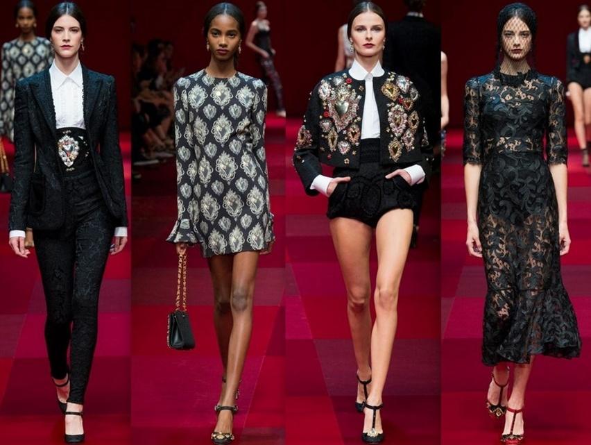 Dolce & Gabbana em Milão - Verão 2015 - Cris Vallias Blog 4